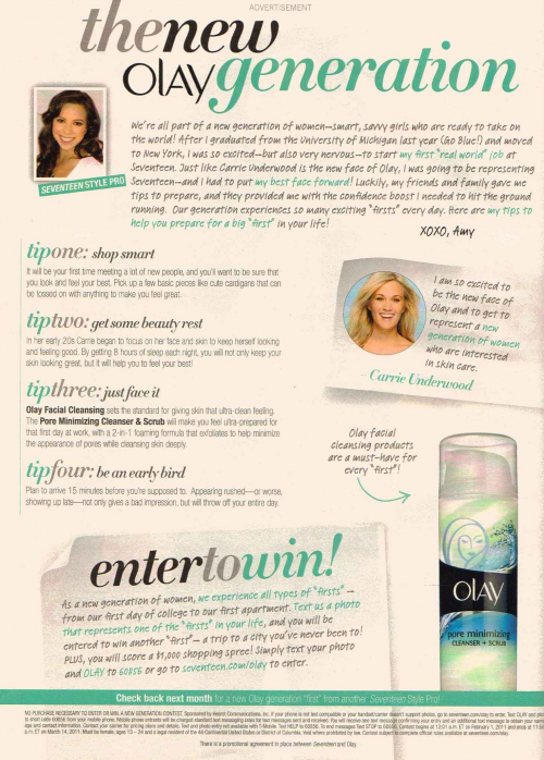 MMS MO Sweepstakes with OLAY