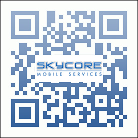 skycore mobile services qr code