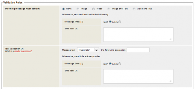 blog validation rules for textual data
