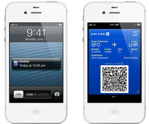 passbook boarding pass and pass relevancy