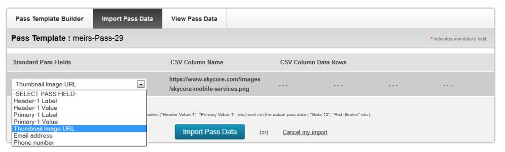 Upload Passbook Thumbnail Images Via CSV