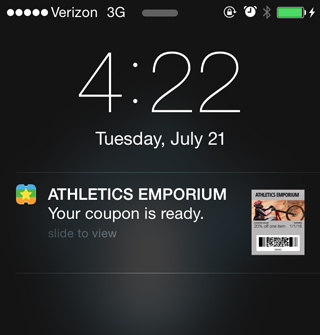 iBeacon Integration for Apple Wallet
