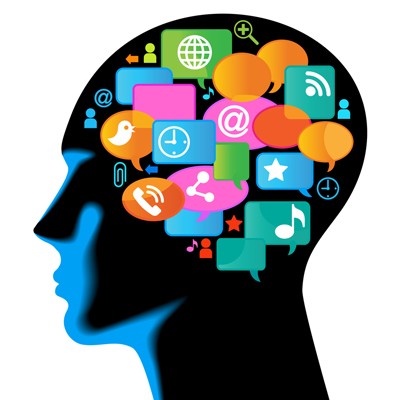 Media-Human-mobile.The development of global communications. Com