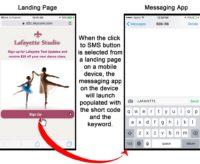 Click to SMS Buttons for your Ads or Landing Pages