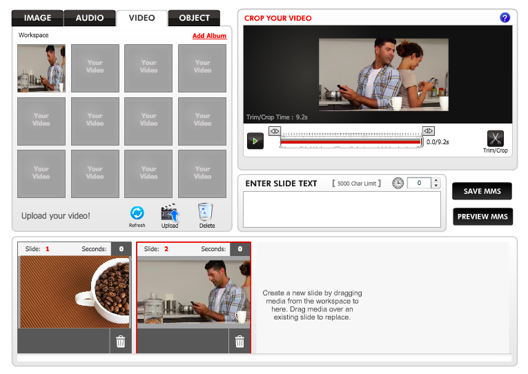 MMS Marketing with Video