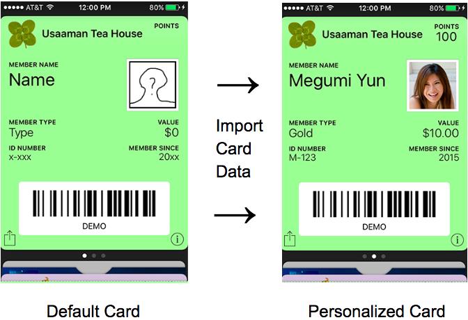 Update Card Data