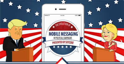 The benefits of mobile messaging in politics
