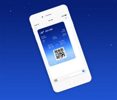 Digital Airline Ticket