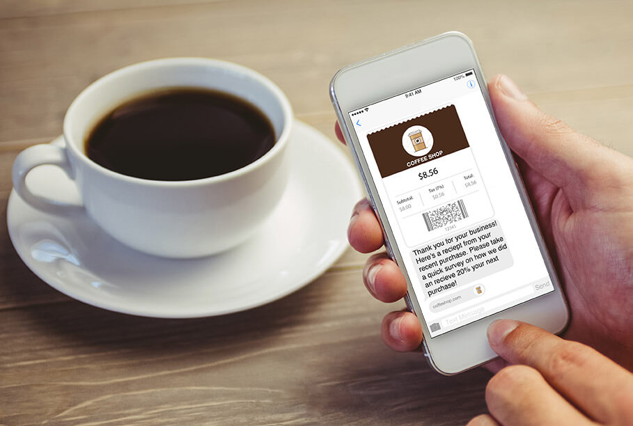 Learn more about sending mobile receipts