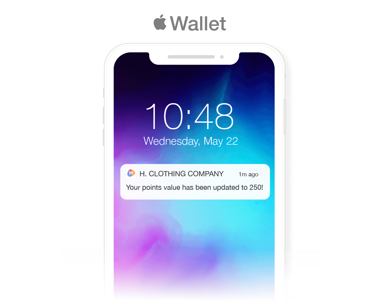 icon for apple wallet notifications