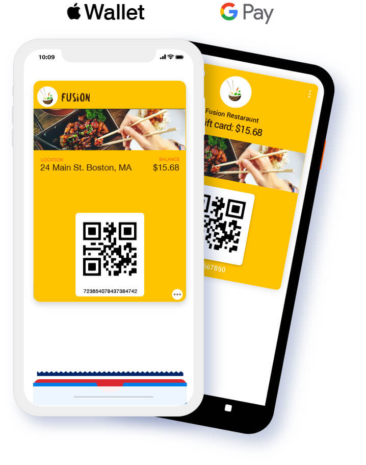 Unified Apple wallet and Google Pay